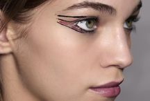 Graphic eye liner