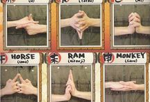 performing handsigns