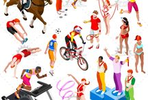 CHARACTER DESIGN SPORTS