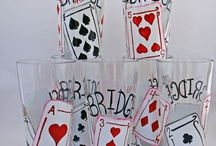 Ideas for Bunco night (or bridge, poker, etc) / Products and ideas to make game nite special.