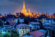Travel / The city of Yangon is probably the most charming place with a refined blend of different culture where you can find Burmese pagodas, Chinese temple and Muslim mosque appear in the same district of the city.