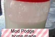 Mod podge DIY