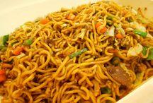 Asian dish-noodles