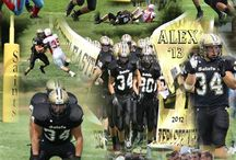 Football Collages / Collages of Football Players I photographed