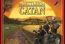 Settlers of Catan  / Display of Settlers of Catan board games and accessories - have more fun by extending the playability of these games with extras.
