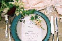 Fine Art Bride Reception Tabletop Inspiration / Fine Art Wedding Photography Inspiration. Reception Tabletop Inspiration using Fuji 400h Film.