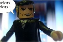 A World's Finest / Minimate Fan Comic  A Worlds Finest Presents: All the Men's President  Http://therealedjohnsonpresents.com / by TherealEdJohnsonPresents.com