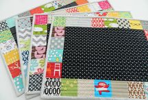 Sewing: table runners and placemats