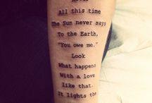 tattoos / by Octavia Van Every