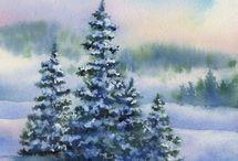 Kerst schilderen