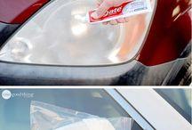 Car clean in Winter