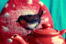 Felted Tea Cosy