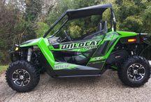 WILDCAT 700 TRAIL XT / il nuovo Wildcat 700 trail xt , largo come un quad, adatto a tutti i sentieri.