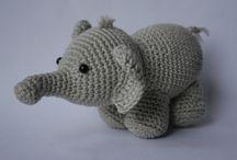 Baby elephant garland