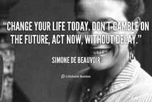 Words to Live By / Gems of wisdom. / by Jackie M