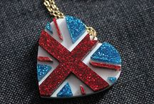 Anglophile / Obsessed with the UK.