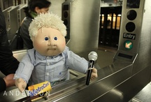 Cabbage Patch Kid Anderson in NYC