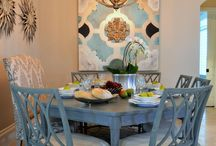 DINING ROOOM IDEAS / FOR 8 BERWICK / by Elizabeth Wachman