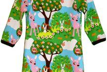 střihy dětské oblečení