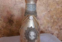Bottle / decorated bottle