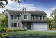 The Auburn Exterior / by Wayne Homes