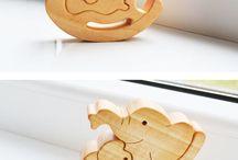 figury z drewna