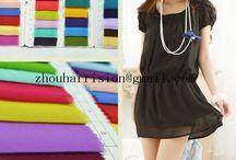 fashionable chiffon fabrics / supplier
