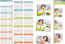 PRISM CALENDARS / PSD FILE PRISM CALENDARS  Create beautiful personalized calendars choosing from 4 different desktop prism styles and 2 classic layouts (portrait & landscape).