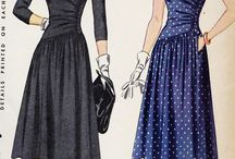 Sewing: 1940s patterns / by Aspen Crabb