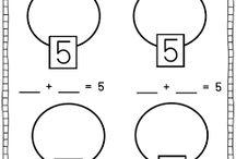 K Math-(Number bonds)
