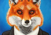 Gentleman Foxies / Vulpine gentlemen and ladies.