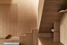 INTERIOR: WOOD / A collection of images of wood finishes being used in interiors