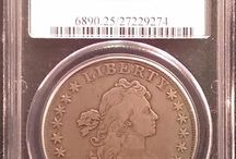 Draped Bust Dollar / Inventory and prices subject to change. Call (920) 432-5950 for current stock.
