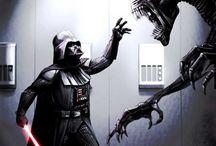 Star Wars vs Aliens