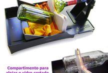 cortador de cristal por resistencia