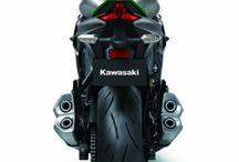 Kawasaki Z10 Rear