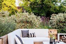 Garden living room