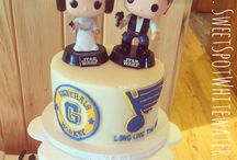 Grooms Cakes by The SweetSpot Bakehouse / Fun cakes for the grooms. Anything from sports themes to gaming consoles. You name it, we can create it!