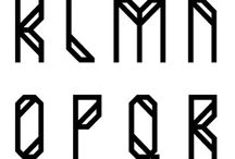 Typography makes the world go round / Intense typography