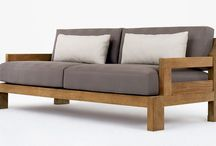 диван из досок