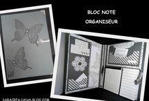 BLOC NOTE ORGANISEUR