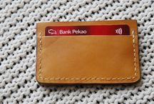 Minimal leather card wallet,holder,Veg tanned leatger,carmel, business cards case,leatherworkspl