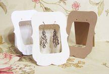 Jewellery Display cards