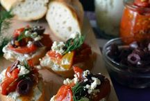 Appetizers to wet your appetite! / Yummy starters to start a lovely meal