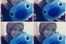 hijabr's :3 / w/ stitch arya from perooong {}