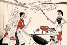 Vintage/Retro BBQ Images / by GrillingWithRich