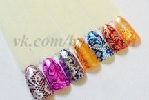 Nail Foil Decals / nail foil, nail decals