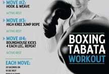 Boxing workout / by Brette Bartolucci