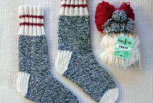 Knitting Socks With Wool