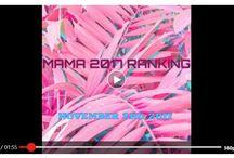MAMA 2017 Ranking